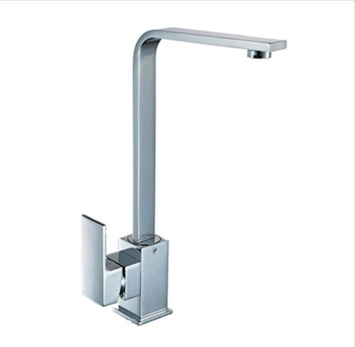 ROKTONG Faucet Quartet Hot And Cold Water Mixing Kitchen Faucet 360 ° redatable Sink Sink Faucet