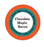 Chocolate Maple Bacon Gourmet Coffee, 24 Count, Compatible With All Keurig K-cup Machines