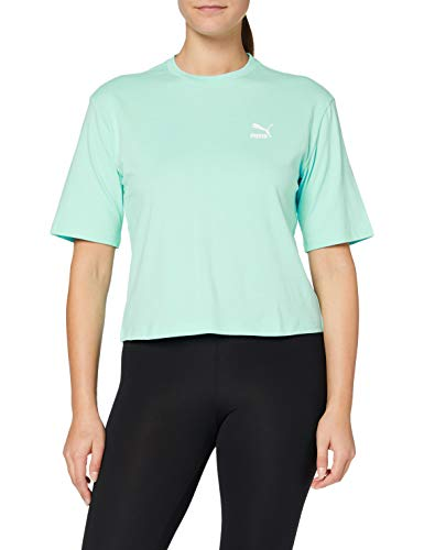 PUMA Tfs Graphic Regular tee Camiseta, Mujer, Aruba Blue, M