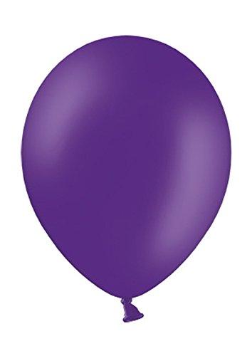 Belbal 25 Luftballons royal lila Qualitätsballons Ø ca. 27cm B85 (Standardgröße)