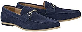 Tarocash Men's Taylor Suede Loafer Footwear Sizes 7-13 for Going Out Smart Occasionwear