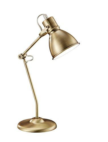 Lámpara de mesa, 18W, IP20, 204 lumens, E14, color bronce antiguo