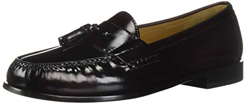Cole Haan Men's Pinch Tassel Loafer, Burgundy, 11 D US