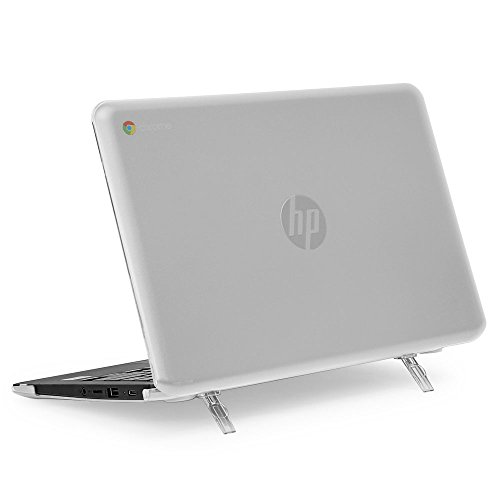 mCover Hard Shell Case for 11.6' HP Chromebook 11 G6 EE / G7 EE/ 11a-NBxxxx laptops ( NOT Compatible with pre-2018 HP C11 G4EE / G5EE ) ( HP C11 G6EE Clear)