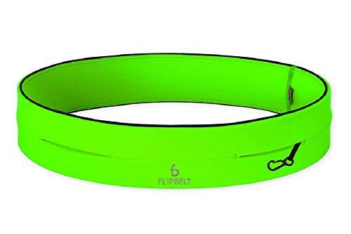 Flipbelt Klassischer Gürtel mit Mehreren Taschen XS grün