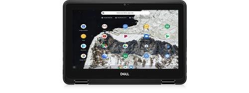 """Dell Chromebook 11 3100 2-in-1 Celeron N4000 1.1GHz 4GB 64GB eMMC AC BT WC 11.6"""" HD MT Chrome OS"""