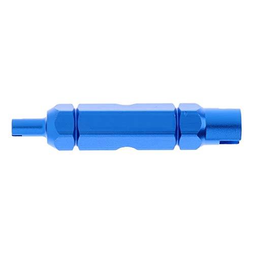POFET - Estrattore per valvola di bicicletta, strumento di rimozione per tubo Presta/Schrader
