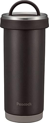 ピーコック魔法瓶工業 水筒 ステンレスボトル タンブラー ボトル0.4LダークブラウンAKS-R40 TD