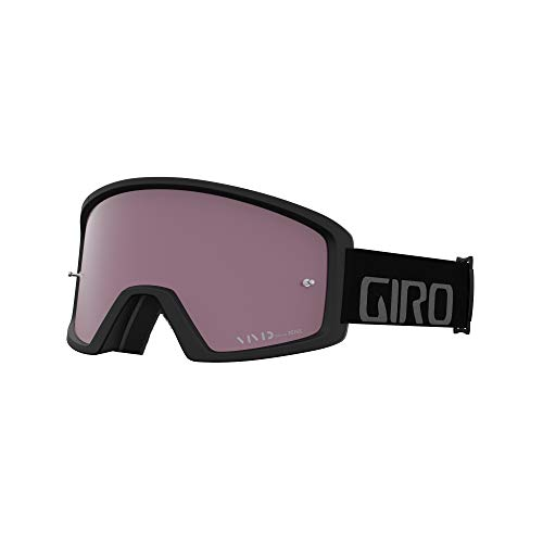 Giro Blok MTB Vivid Unisex Dirt Mountain Bike Goggles - Black/Grey, Vivid Trail Lens