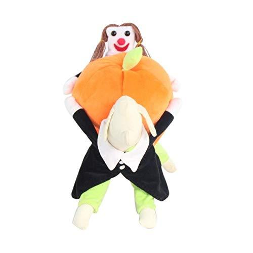 MYYXGS Disfraz De Vacaciones para Mascotas Ropa para Perros Disfraz De Calabaza para Mascotas De Halloween Divertido Disfraz De Mascota