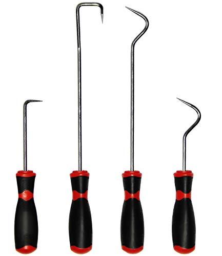 VViViD REV Long Reaching Hook & Pick Hose Removal Steel 4 Piece Pack