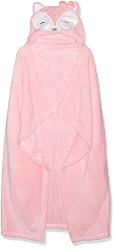 Rene Rofe Baby Newborn Unisex Hooded Baby Blanket, Coral, One Size