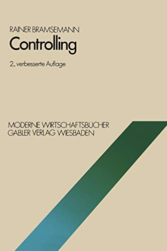 Controlling (Moderne Wirtschaftsbucher) (German Edition) (Moderne Wirtschaftsbücher (9), Band 9)