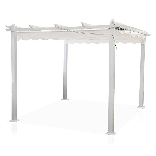 MAGAZZINI COSMA SNC (COS))- Gazebo all. 3x4 Astoria GA802001, Multicolore, 123