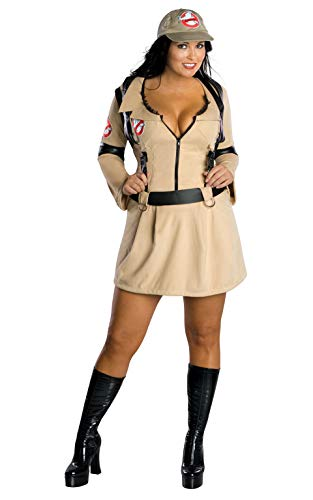Plus Size Ghostbusters 80s Movie Dress Costume for Women