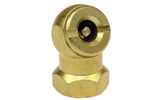 Coilhose Pneumatics CH10 Closed Ball Chuck and Clip, 1/4-Inch FPT