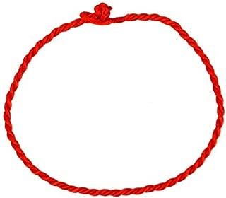 Pomeat Pack of 50 Red String Bracelets Fengshui Good Luck Bracelet Jewelry Kabala Charm Fashion Bangle