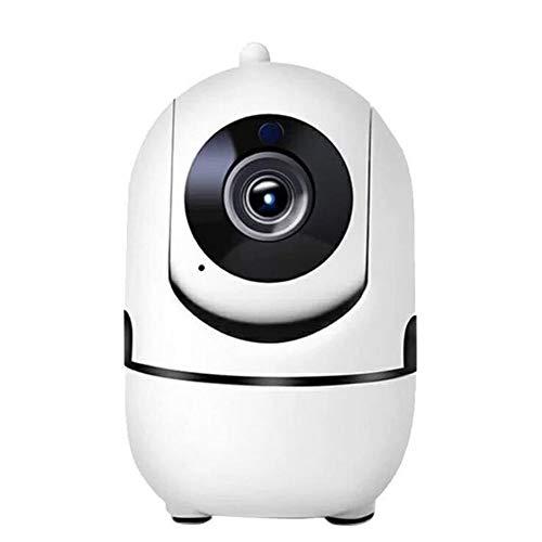 Cámara De Vigilancia IP 1080P HD Interior Cámara Inalámbrico Inteligente Camara De Video 360 ° Casa Remotamente Cámaras De Vigilancia (2 Million dpi + no TF Card)