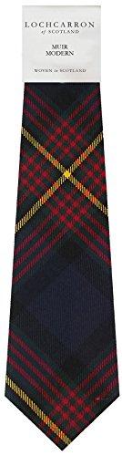 I Luv Ltd Gents Neck Tie Muir Modern Tartan Lightweight Scottish Clan Tie