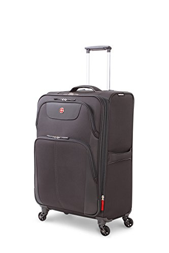 """SwissGear Meyrin 24.5"""" Expandable Spinner Suitcase"""