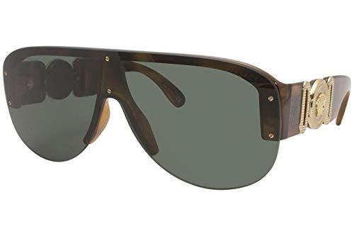 Versace Gafas de Sol MEDUSA BIGGIE VE 4391 Havana/Dark Green 48/14/140 hombre