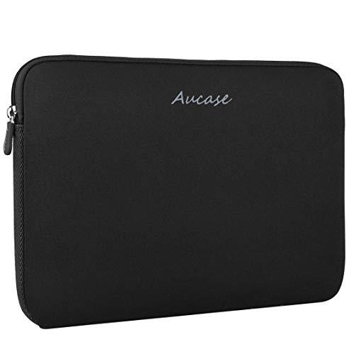 Aucase Laptop Hülle Kompatibel mit 15-16 Zoll Laptop Chromebook, Superdünne Stärkste Wasserabweisende Neopren Schutzhülle