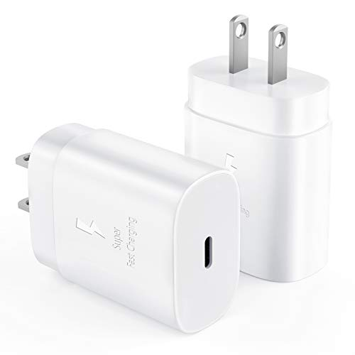 USB C Charger Block,20W PD Fast Charging Block for iPhone 12/12 Pro Max/ 12 Mini/,USB-C Power Adapter for iPhone 11/11 Pro Max, iPad Pro,iPhone SE 2020 (2 Pack)