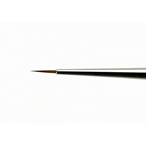 Pinceau rond Nail Art Liner Extra Fine Kolinky 3/0 Short