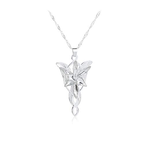 Lord of The Rings Arwen Evenstar Necklace Earrings bracelet Jewelry (Necklaces)
