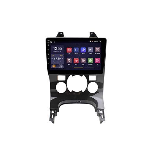 Android 10.0 Autoradio per Peugeot 3008 2009-2012 Auto Stereo GPS Navigazione GPS Touch Display Auto Media Player Doppio DIN Head unità Supporto WiFi Controllo Volante(Size:B,Color:4G+WiFi:2+32G)