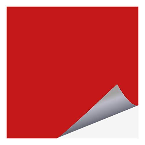 timalo® Fliesenaufkleber für Küche und Bad – alle Fliesen und Größen | 8 x 8 cm (35 Stück) rot (glänzend)