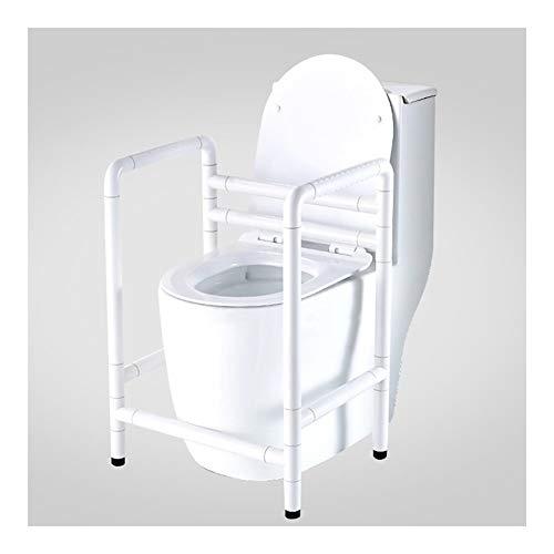Barras de Apoyo para Inodoros Antideslizantes de Seguridad para Discapacitados Marco de Soporte de Asistencia Móvil Portátil para Baño para Ancianos Inodoro Público Pasamanos Móvil Soporte para Ducha