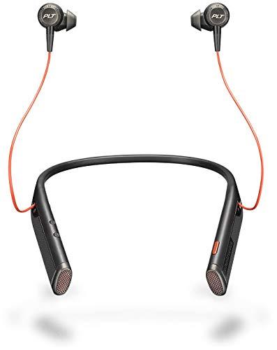 Plantronics Voyager 6200 UC - Auriculares estéreo con Bluetooth (sujeción en el...
