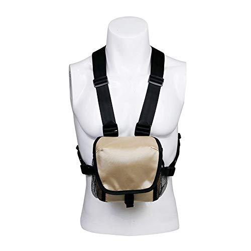 MiOYOOW Bolsa de arnés binocular, bolsa de transporte de prismáticos, ligera, bolsa de almacenamiento para actividades al aire libre, caza, senderismo, observación de aves