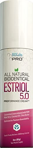 Estriol All Natural Bioidentical Estriol 5 0 Age Management for Women Professional Strength product image
