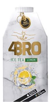 4Bro - Ice Tea Lemon 500ml | der Eistee für Gamer. Shisha und Eis Tee Liebhaber…