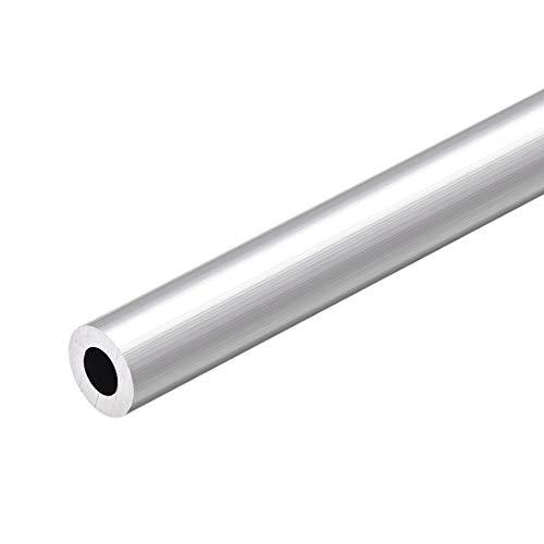 sourcing map Aluminium Rundrohr, 6063 300 mm Länge, 14-15 mm Außendurchm. nahtloses, gerades Aluminiumrohr 8 mm ID x 15 mm AD