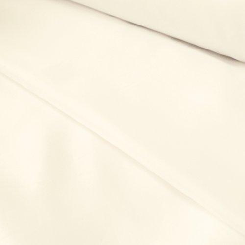 Ivoire/blanc cassé Couleur Polyester Doublure antistatique Robe – au mètre