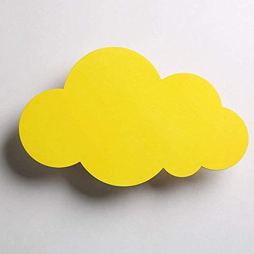 Cloud Forme Wall Light - Moderne Creative Led Applique - Chambre Sconce - Lampe mignon fille nuit enfants lampe mur,D,37 * 23cm