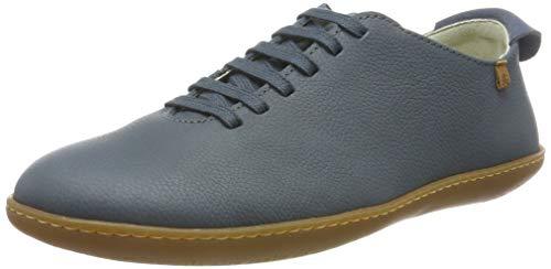 El Naturalista El Viajero, Zapatos de Cordones Derby Mujer, Azul (Vaquero Vaquero), 36 EU