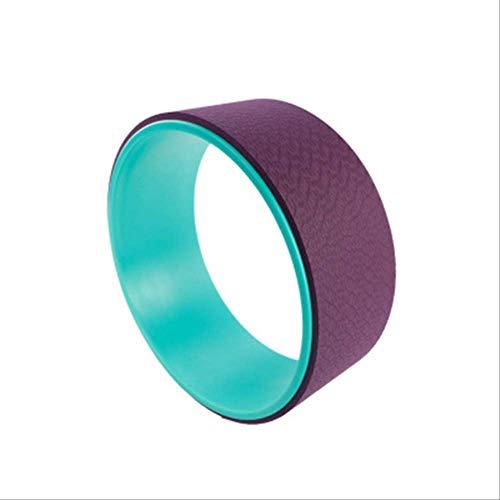 QWASZ 33 * 13cm Yoga Trainingswielen Dames & Kind Yoga Fitnessapparatuur Gym Accessoires Oefening Pilates Ring SportGroen
