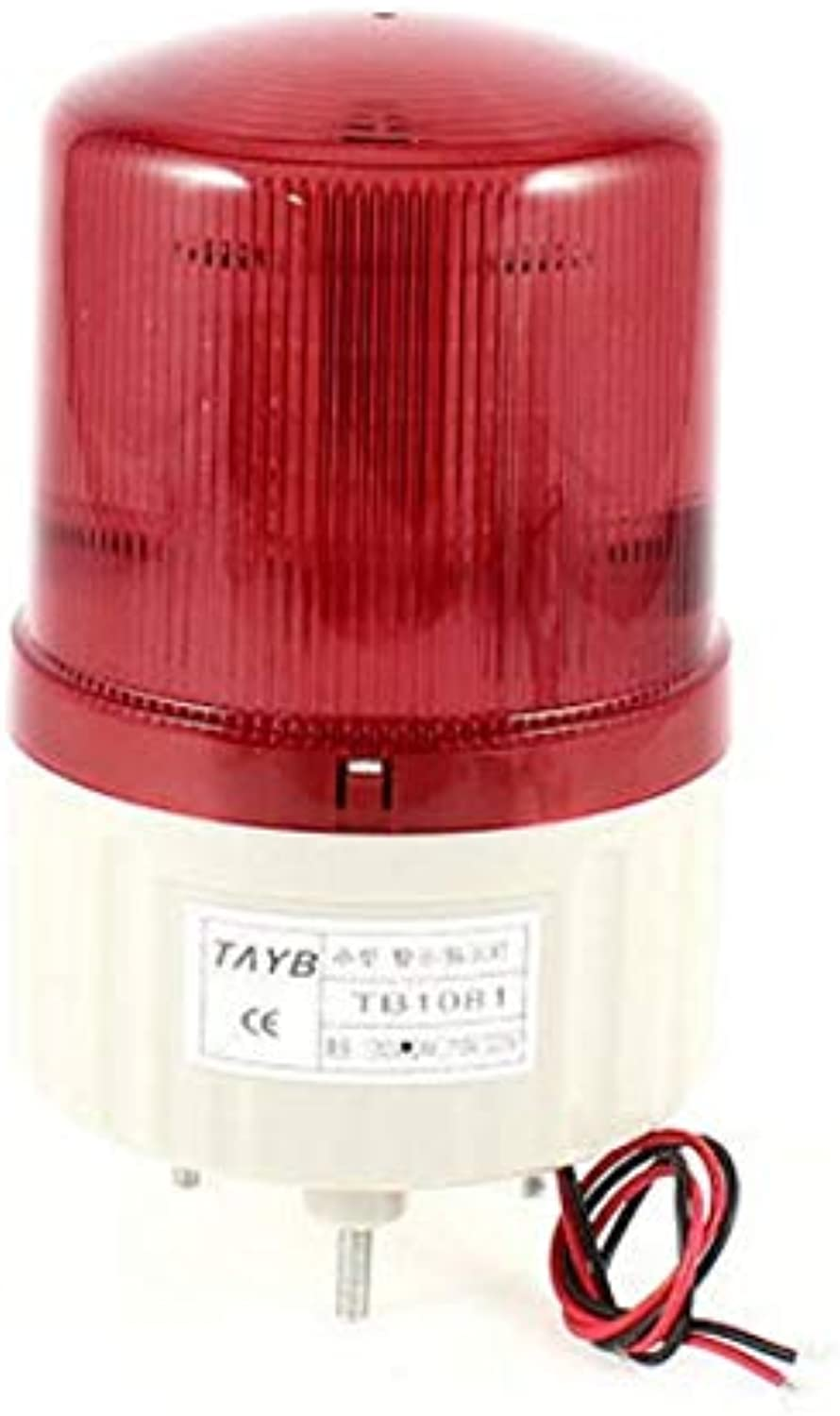 DC 24V 1.8W Red Warning Industrial Signal Flashing Light Lamp Bulbs