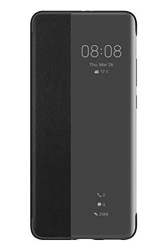 HUAWEI P40 Pro Smart View Flip Case Handytasche Original Zubehör Schwarz