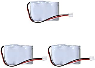 Synergy Digital Cordless Phone Batteries, Works with Vtech ia5878 Cordless Phone, Combo-Pack Includes: 3 x UL122 Batteries