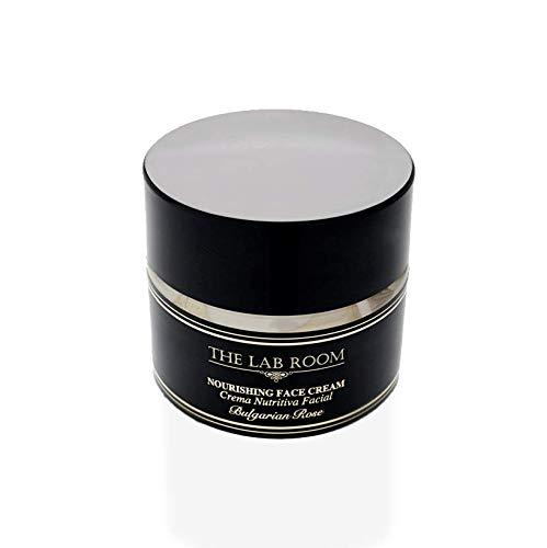 Crème Visage Hydratant, The Lab Room Nourishing Face Cream 50ml, Crème Visage Anti-rides Anti-âgede aux Rose Bulgare et Centella Asiatica