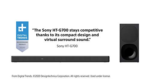 Product Image 12: Sony HT-G700: 3.1CH Dolby Atmos/DTS:X Soundbar with Bluetooth Technology
