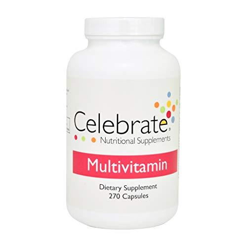 Celebrate Multivitamin Capsules 270 Count