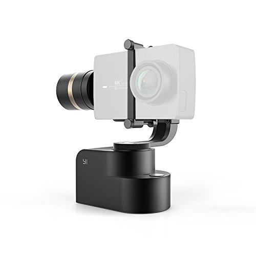 يي ثلاثة محاور gimbal ، دعم PTZ 4K / 4K + كاميرا العمل