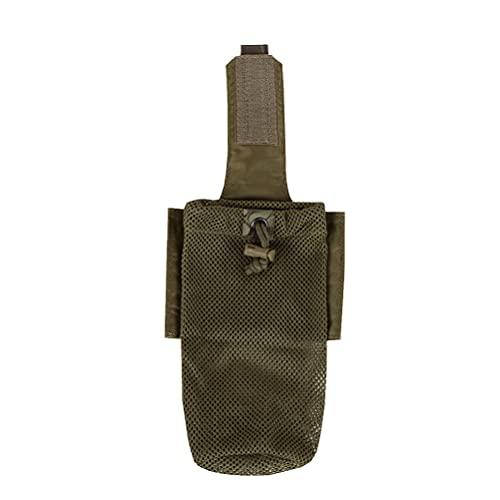ABOOFAN Accesorio Molle System Chaleco Accesorio Kit Almacenamiento Bolsa Molle Bolsa Plegable Botella Bolsa para Camping al Aire Libre Senderismo (Patrón 2)