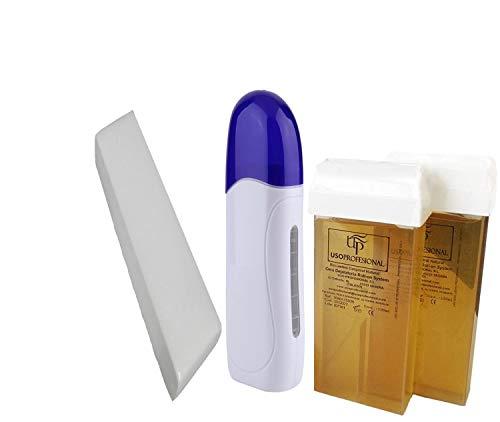 Kit de Depilación Profesional, 1 Calentador de Cera Tibia